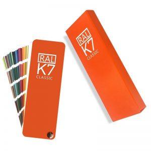 bảng màu ral k7